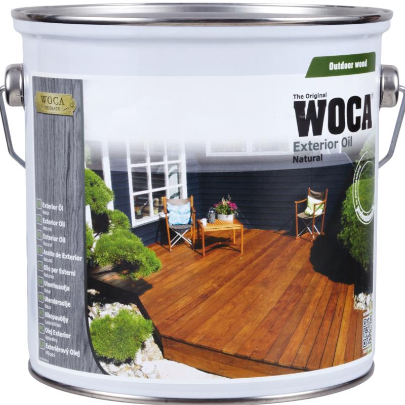 WOCA Exterior Öl natur 2,5 Liter