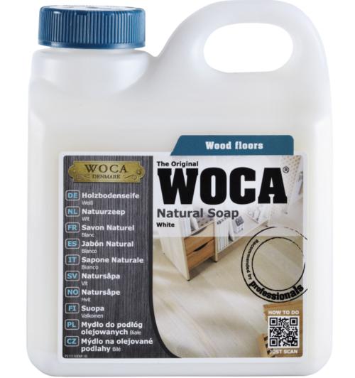 WOCA Holzbodenseife weiß 1 Liter
