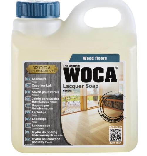 WOCA Lack- und Laminatseife 1 Liter