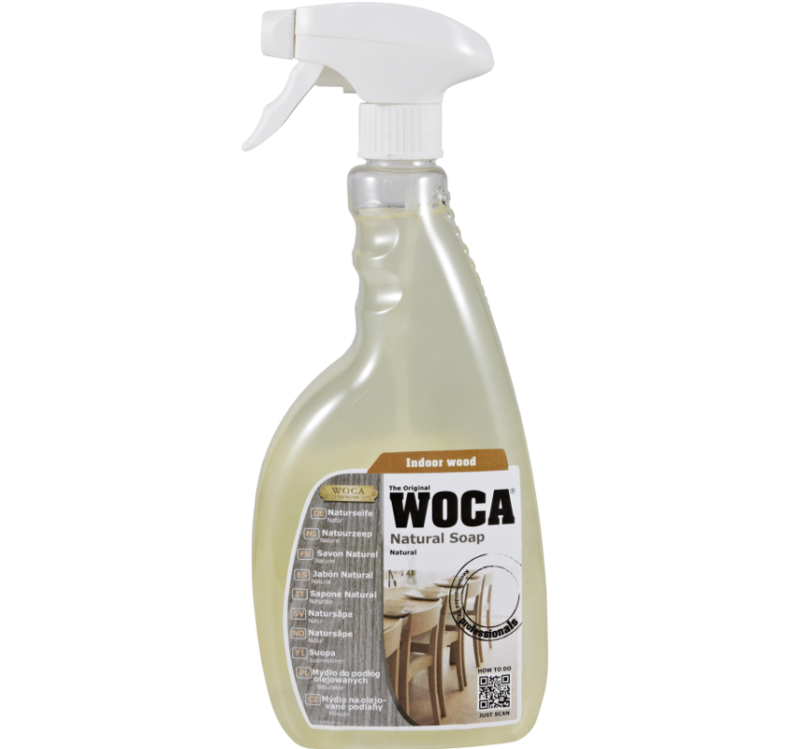 WOCA Holzbodenseife Spray natur 750 ml