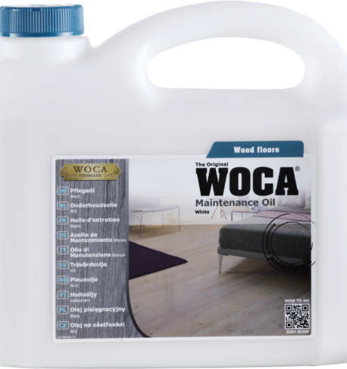 WOCA Pflegeöl weiß