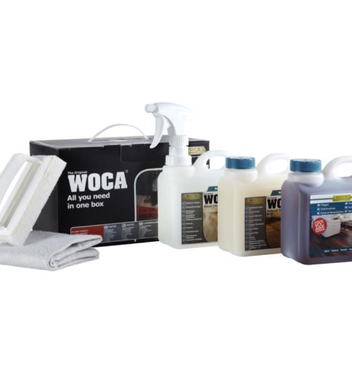 WOCA Pflegebox Öl natur