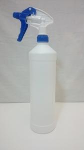 Sprühflasche Plastik mit Sprühkopf