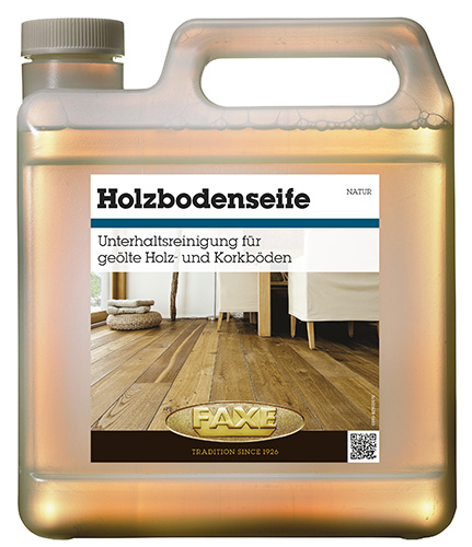 Faxe Holzbodenseife weiß